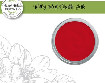 Magnolia Design Co-Inks Ruby Red Chalk Ink-Chalk Art DIY