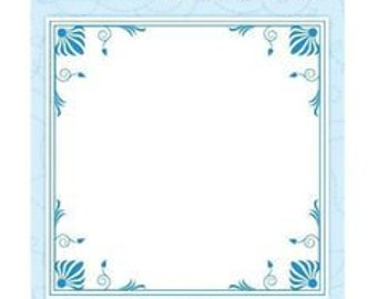"Crafter's Companion Die'sire Embossalicious Elegant Frame 6"" x 6"" Embossing Folder EF6-ELFME"