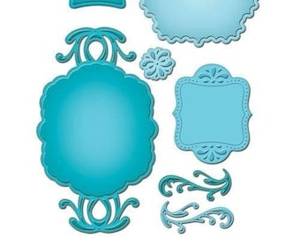Spellbinders Shapeabilities Spellbinders Ornate Artisan Tags And Accents S5-070 Limited