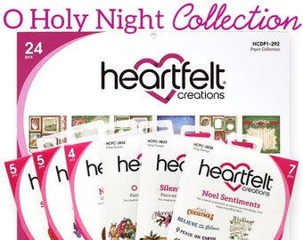 Heartfelt Creations O Holy NIght I Want it All Christmas Collection IWIA-1100