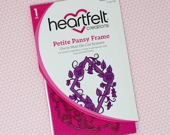 Heartfelt Creations Petite Pansy Frame Die HCD1-7225