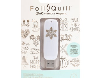 We R Memory Keepers Foil Quill USB Art – Holiday 660687