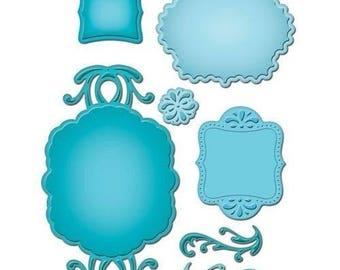 Spellbinders Shapeabilities Spellbinders Ornate Artisan Tags And Accents S5-070