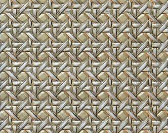 Spellbinders 3D M-Bossabilities Embossing Folder Cane Weave E3D-011