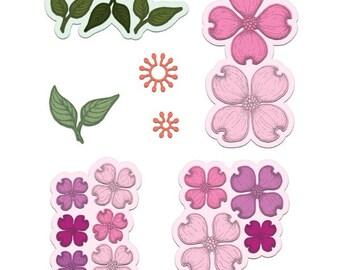 Heartfelt Creations Flowering Dogwood HCD1-7129