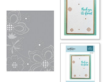 Spellbinders Floret Cluster Cut and Emboss Folder CEF-005