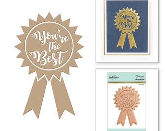 Spellbinders You're the Best Glimmer Hot Foil Plate GLP-005