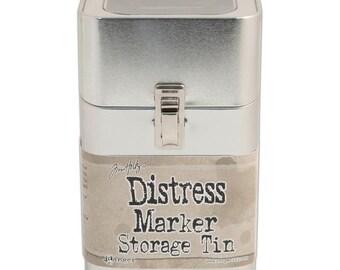 Ranger - Tim Holtz - Distress Marker Tin - Empty
