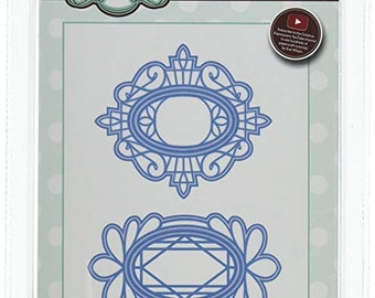 Creative Expressions Sue Wilson Pacific Ocean Collection Tag Duo Die CED12003