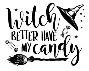 "Magnolia Design Co-Better Have My Candy-Reusable Adhesive Silkscreen Stencil 8.5"" x 11""-Chalk Art DIY"