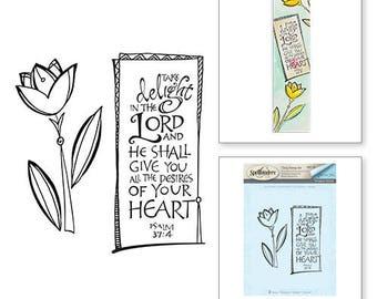 Spellbinder Take Delight Stamps Bible Journaling by Joanne Fink SBS-146