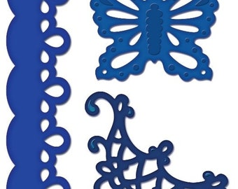 Heartfelt Creations Decorative Butterfly-Border Die HCD-702