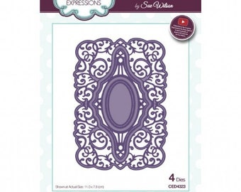 Creative Expressions Sue Wilson Frames and Tags Collection Megan Die CED4323
