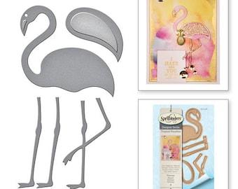 Spellbinders Spellbinders® Die D-Lites Flamingo Etched Dies Tropical Paradise by Lene Lok S3-248