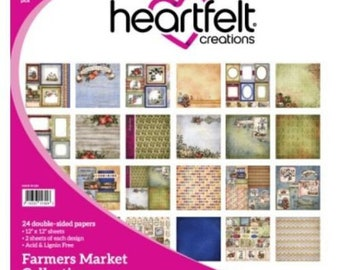 "Heartfelt Creations Farmers Market Collection 12"" x 12"" HCDP1-260"