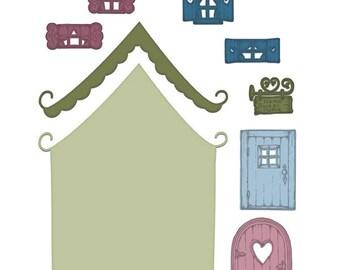 Heartfelt Creations Wildwood Cottage HCD1-7127