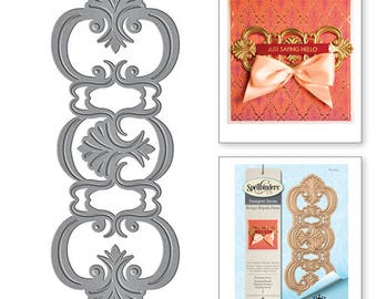 Spellbinders Shapeabilities Fantasia Strip Etched Die from the Rouge Royale Deux Collection by Stacey Caron S4-724
