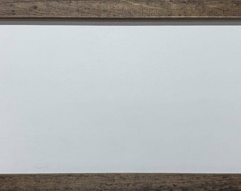 "Magnolia Design Co-7""x18"" Double Sided Wood Box Frame - Chalk Surface-Chalk Art DIY"