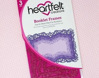 Heartfelt Creations Booklet Frames Die HCD1-7261