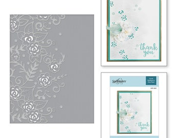 Spellbinders Flower Garden Cut and Emboss Folder CEF-002