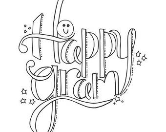 Spellbinders Stamps Tammy Tutterow Designs Happy Gram SBS-035