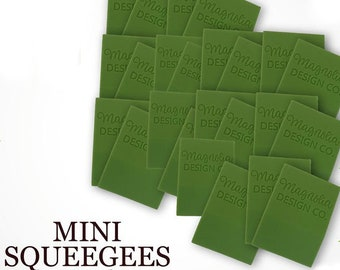 Magnolia Design Co-Accessories-Mini Squeegee 24pk-Chalk Art DIY