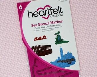 Heartfelt Creations Sea Breeze Harbor Die HCD1-7264