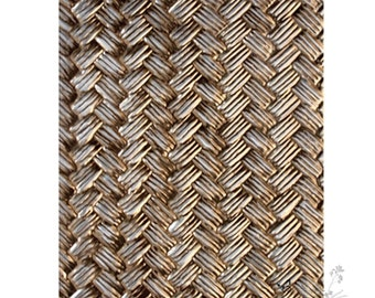 Spellbinders 3D M-Bossabilities Embossing Folder Basket Weave E3D-004