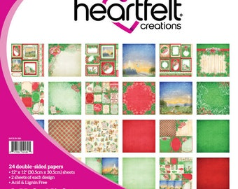 Heartfelt Creations O Holy Night Paper Collection HCDP1-292