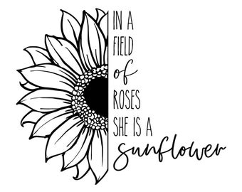 "Magnolia Design Co-Shes a Sunflower-Reusable Adhesive Silkscreen Stencil 8.5"" X 11""-Chalk Art DIY"