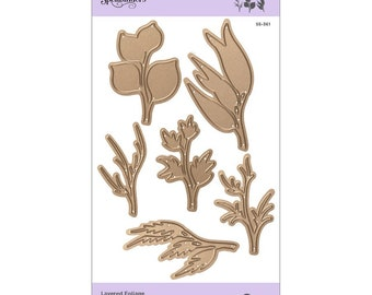 Spellbinders Shapeabilities Layered Foliage Etched Dies - Exclusive S5-361