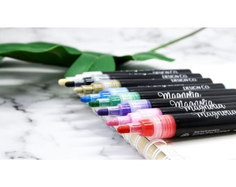 Magnolia Design Co-Accessories-Permanent Ink Markers 8pk Assortment-Chalk Art DIY