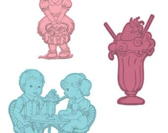 Heartfelt Creations Berry Cafe HCD1-794