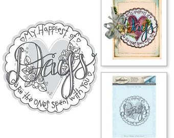 Spellbinders   Days 3D Shading Stamp from the Happy Grams #2 Collection by Tammy Tutterow DSC-040
