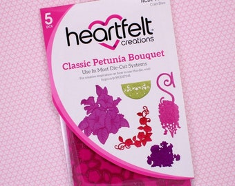 Heartfelt Creations Classic Petunia Bouquet HCD1-7141