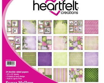 Heartfelt Creations Sugar Hollow Paper Collection HCDP1-262