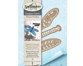 Spellbinders - Flower Garden Collection - Shapeabilities Dies - Botanical Dragonfly - S2-287