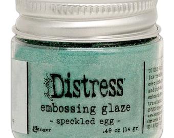 Tim Holtz Ranger Distress Embossing Glaze-Speckled Egg