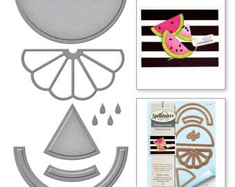 Spellbinders Shapeabilities Market Fresh by Debi Adams Ill Have a Slice Etched Dies S4-721
