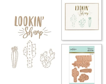 Spellbinders Lookin' Sharp Glimmer Hot Foil Plate GLP-009