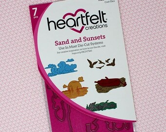 Heartfelt Creations Sand and Sunsets Die HCD1-7265