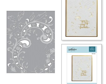 Spellbinders Baroque Filigree Cut and Emboss Folder CEF-004