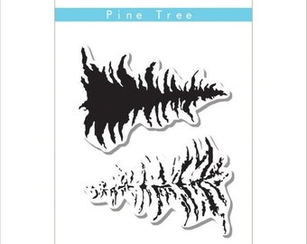 Altenew Pine Tree Clear Stamp Set ALT1118
