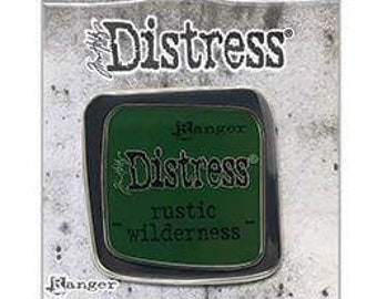 Tim Holtz Ranger Distress Enamel Collector Pin, Rustic Wilderness