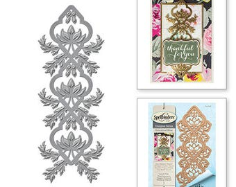 Spellbinders Shapeabilities Stacey Caron Botanical Bliss Lavish Vine Decorative Strip Etched Dies S4-638