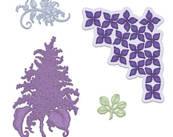 Heartfelt Creations Lush Lilac HCD1-7170