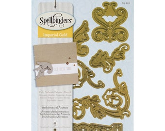 Spellbinders Shapeabilities Architectural Accents Etched Dies S5-220