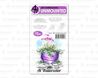 Art Impressions Unmounted Door Stamp Set 5013 - WC