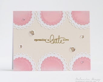 Spellbinders Nestabilities Open Scallop Edge Circles Etched Dies S4-910