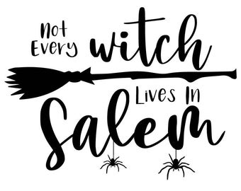"Magnolia Design Co-Not Every Witch-Reusable Adhesive Silkscreen Stencil 5""X7""-Chalk Art DIY"